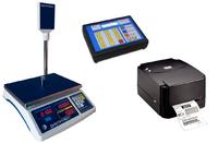 Торговые весы Весы с печатью этикеток ВТД-РС